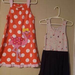 Gap dress and JK Girl dress